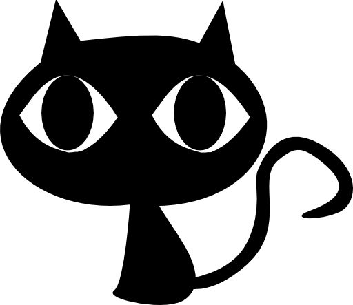 512x443 Cat Black And White Cat Clipart Ideas On Black Cat Silhouette 2