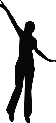 Silhouette Of Black Woman