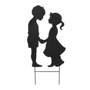 310x310 Girl And Boy Garden Statue Wayfair