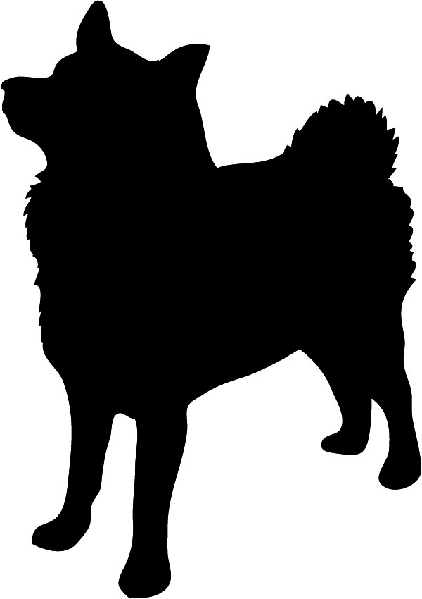 600x850 Free Dog Head Silhouette, Hanslodge Clip Art Collection