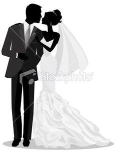 236x305 Groom Silhouette Wedding Clipart