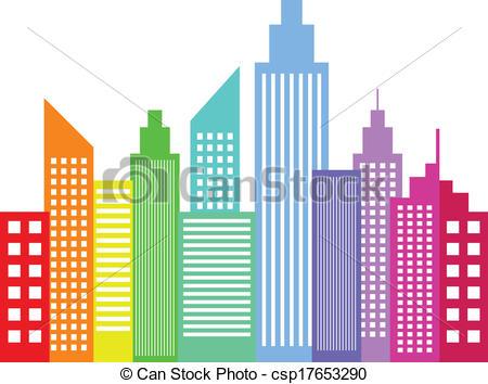 450x354 City Clipart Modern