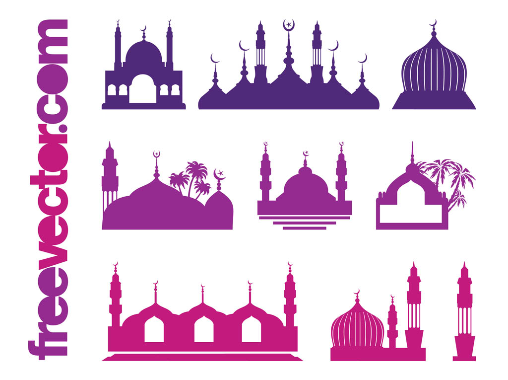 1024x765 Islamic Buildings Vector Art Amp Graphics
