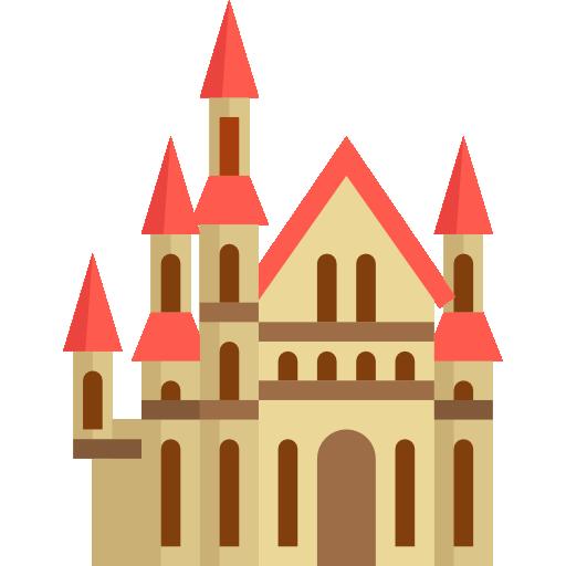 512x512 Castles, Silhouette, Buildings, Antique, Building, Old, Shape