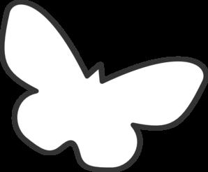 298x246 Butterfly Silhouette