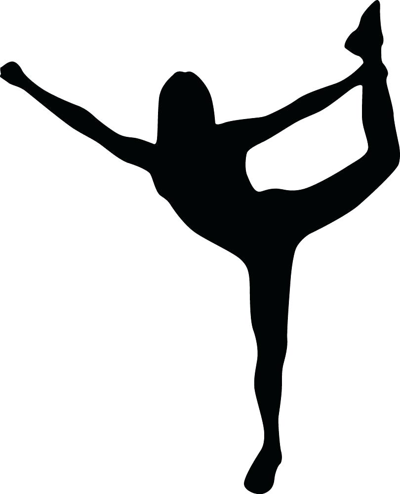 810x1000 Cheerleader Wall Decals Cheer Silhouette Style Black Wall Decal