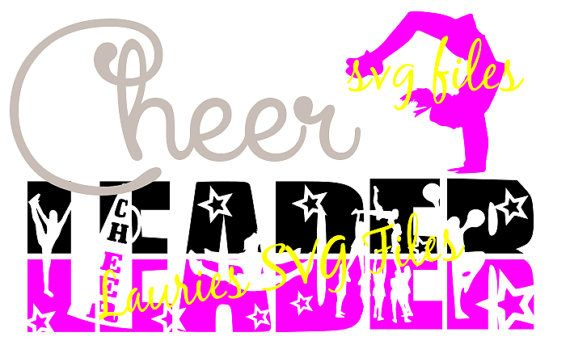 570x362 Cheerleader File Svg,png,jpg And Silhouette Silhouette, Filing