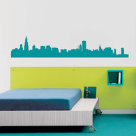 195x195 City Wall Decals