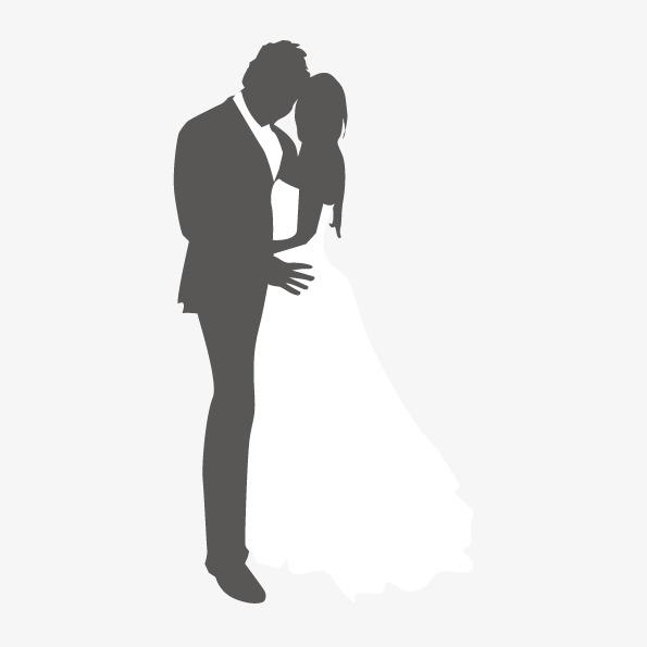 595x595 Vector Abstract Couple Hugging, Abstract Figures, Wedding Hug