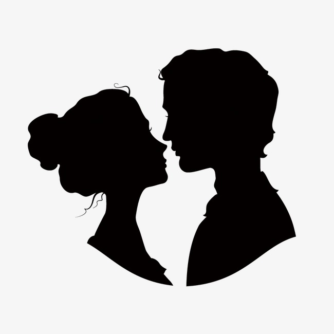 650x650 Couple Silhouette Png Images Vectors And Psd Files Free