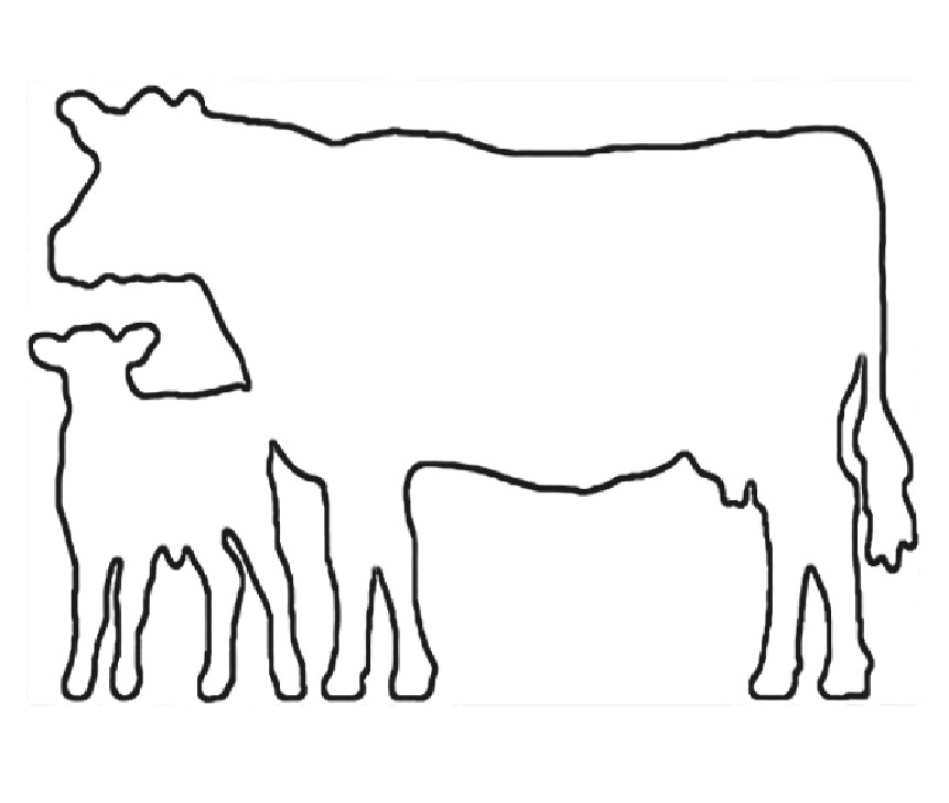 861x729 Free Dairy Cow Clipart, Hanslodge Clip Art Collection