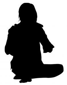 235x300 Cross Legged Sitting (Tailor Fashioned) Photo Free Download