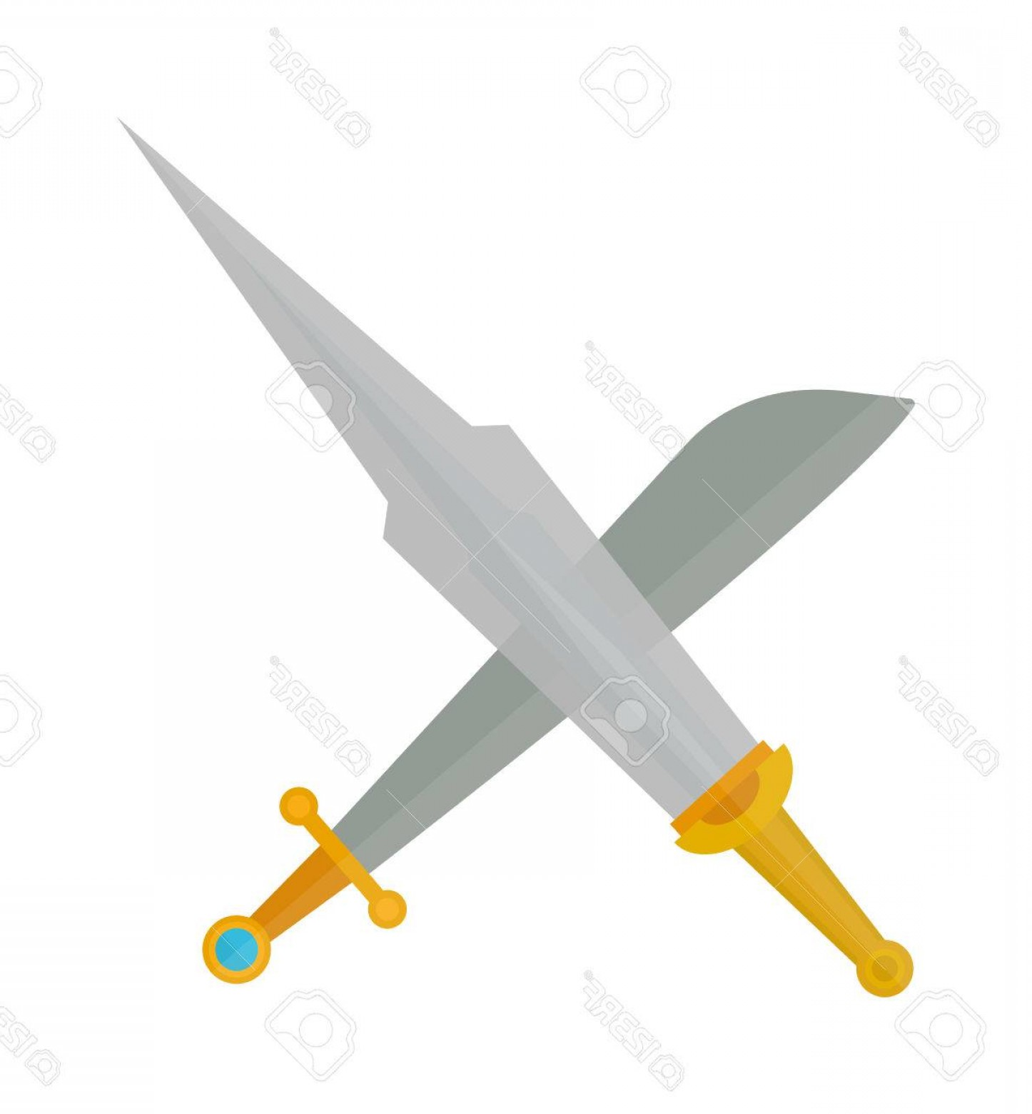 1446x1560 Blade Cross Silhouette Vector Arenawp