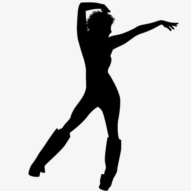 650x651 Silhouette Dancing, Action Silhouette, Silhouette, Character Icon
