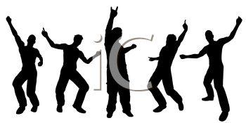 350x175 Silhouette Of Men Dancing