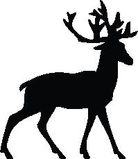 199x229 Deer Silhouette Silhouette Of Deer