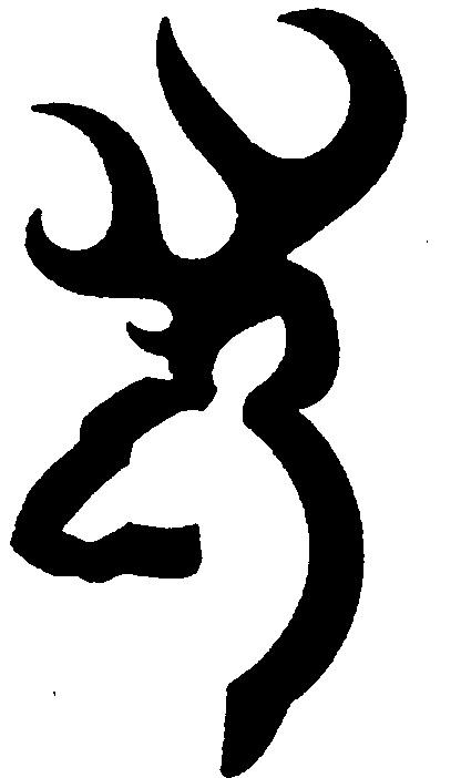 416x702 Deer Head Silhouette Clip Art + Line Art Outline, Buck Doe