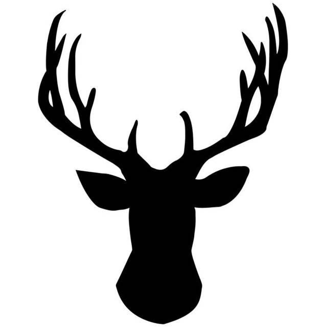 640x640 Deer Silhouettes