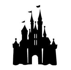 236x231 Disney Castle Stencil Art Studio Ideas Stenciling