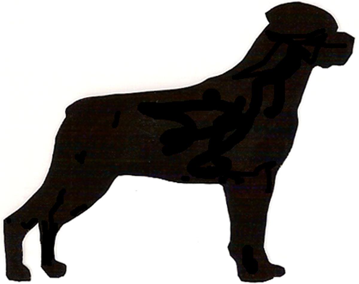 1200x950 Rottweiler Clipart Silhouette