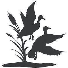 235x235 Duck Silhouette Clip Art Stock Photo Illustrated Silhouette
