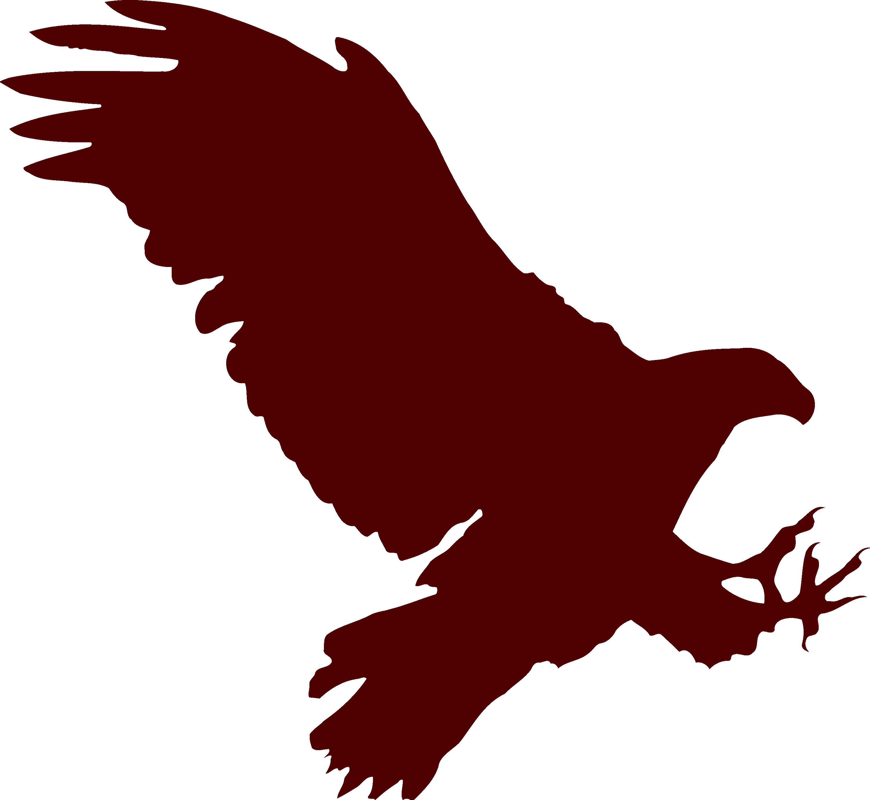3000x2760 Flying Eagle Silhouette Image Id 59 Png Photo
