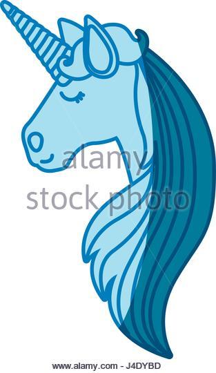 313x540 Silhouette Beautiful Head Unicorn Long Stock Photos Amp Silhouette