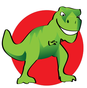 297x300 Chic Design Trex Clipart Home Free Silhouette T Rex Svg Files