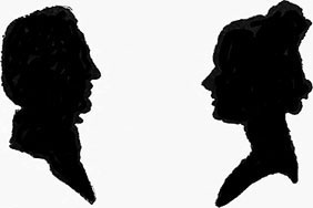 282x188 Colonial Sense How To Guides Crafts Silhouettes Silhouette Cutting