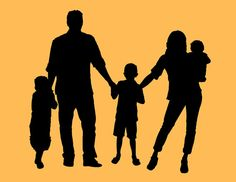 236x182 Silhouette Family 2 Boys
