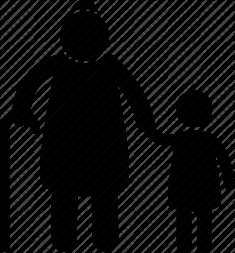 477x512 Child, Granddaughter, Grandmother, Grandparent, Holding Hands, Old