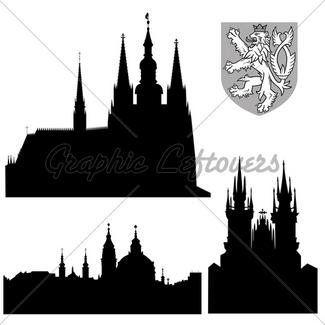 325x325 Famous Landmarks Of Prague Hradcany Cathedral Of Saint Vitus Gl