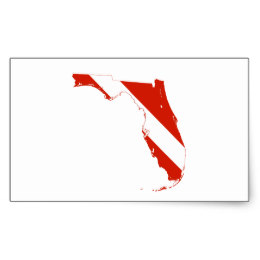 260x260 Florida State Silhouette Diving Flag Gifts On Zazzle