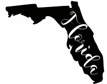 340x270 Florida Silhouette Etsy