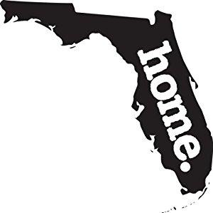 300x299 Home Florida State Design Vinyl Car Sticker Symbol