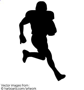 335x355 Download American Football Player Running