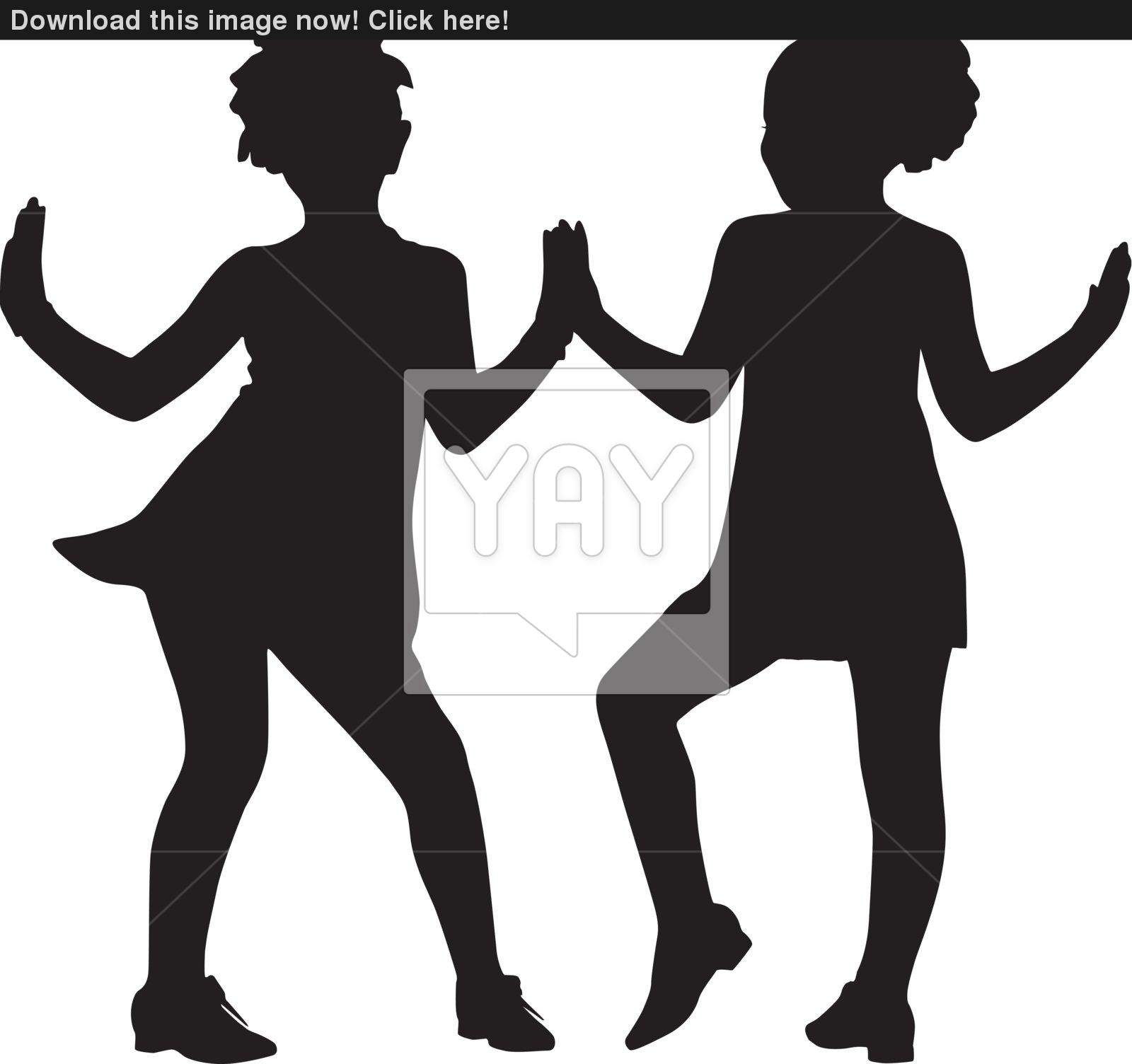 1600x1504 Silhouette Small Friends Vector