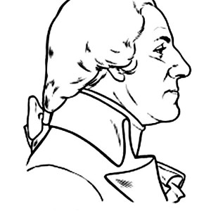 Silhouette Of George Washington