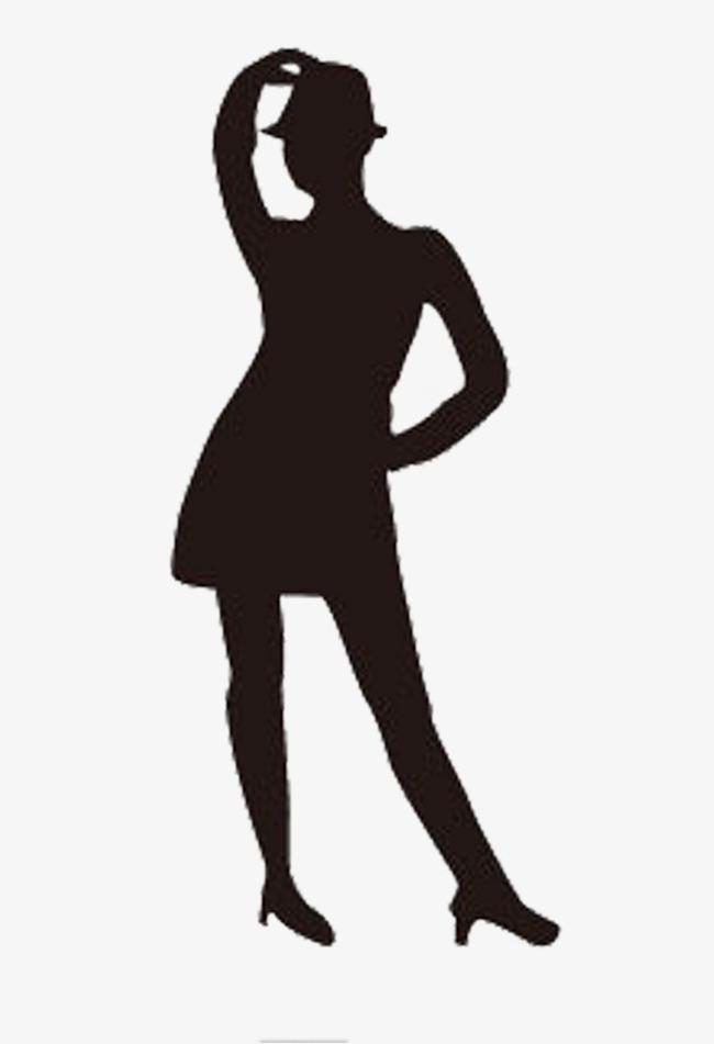650x951 Hop Jazz Dance Girl Silhouette, Dancing, Dance, Girl Png Image