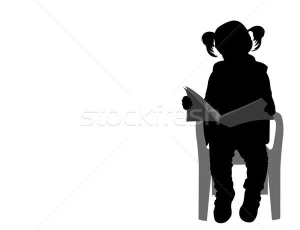 600x460 Little Girl Stock Vectors, Illustrations And Cliparts Stockfresh