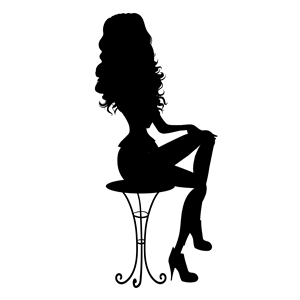300x300 Sitting Woman Silhouette Clipart, Cliparts Of Sitting Woman