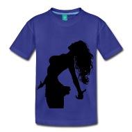 190x190 Wild Hair Woman Silhouette By Martmel Bus Spreadshirt