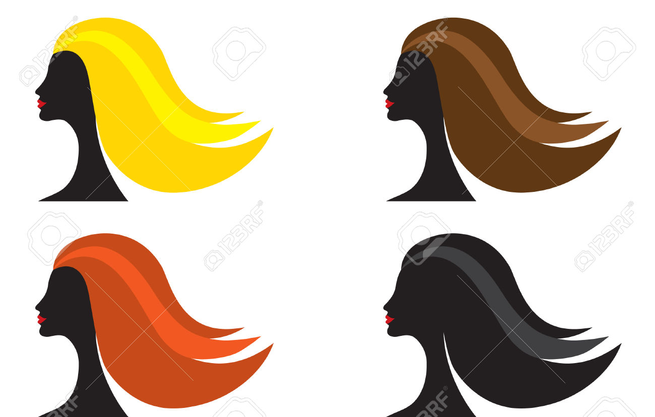 1300x828 Clipart Color Hair