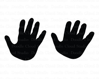 340x270 Hand Silhouette Etsy