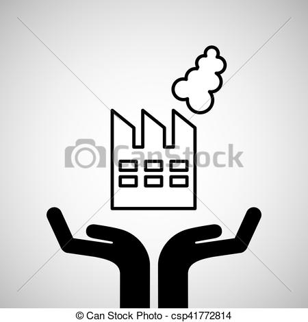 450x470 Silhouette Hands Environmentally Friendly Industrial Vector