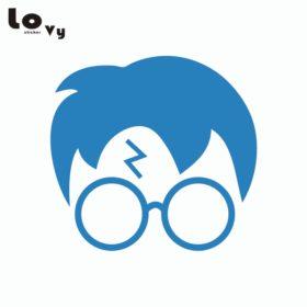 280x280 3 Pcs Harry Potter Silhouette Vinyl Wall Sticker