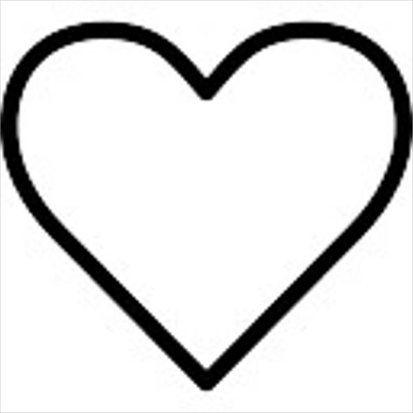 600x600 Heart Silhouette
