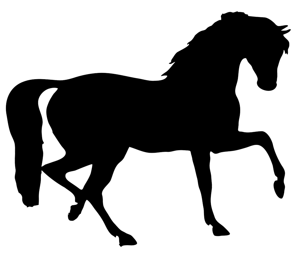 945x805 Horse Silhouette Crafts, Horse Shape's Silhouettes