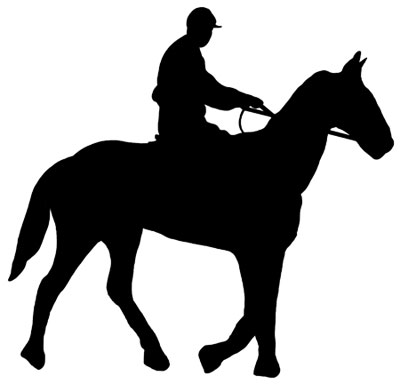 400x384 Of A Horse And Rider