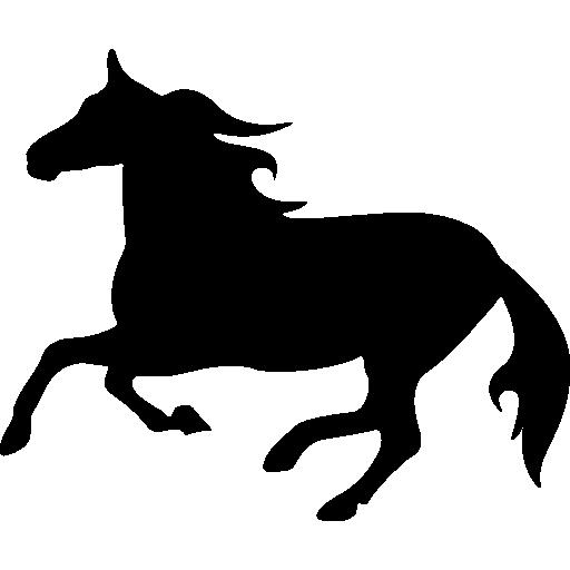 512x512 Horse Silhouette, Horse, Horse Variant, Animals, Horses, Horse